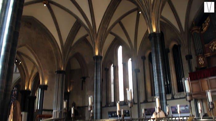 interior da temple church