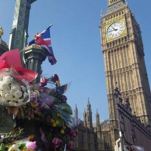 homenagem respeito memoria westminster london