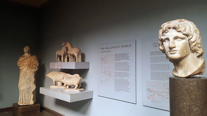 os helênicos no museu britânico