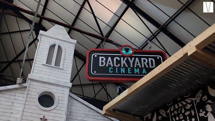 cinema no mercato metropolitano