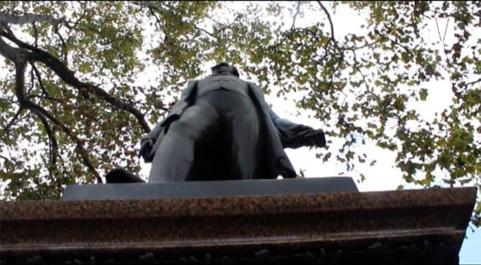 estátua de robert peel