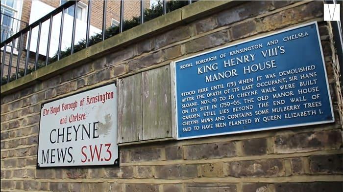 casa que foi de Henry VIII