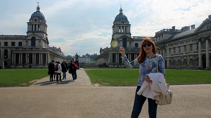 Greenwich com Raquel Sol