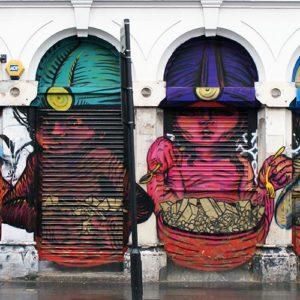 grafitti east london