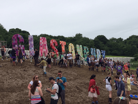 maior festival do reino unido