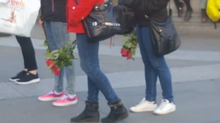 homenagem às vítimas do terrorismo na trafalgar square