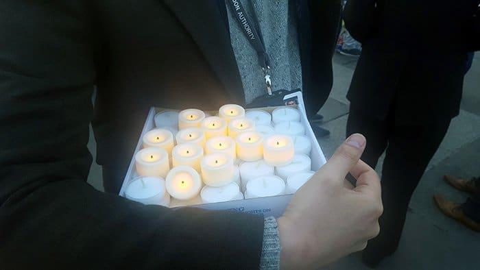 velas pelas vítimas do terrorismo em londres