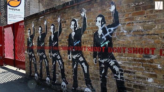 grafite em shoreditch