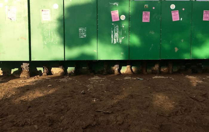 banheiros em glastonbury