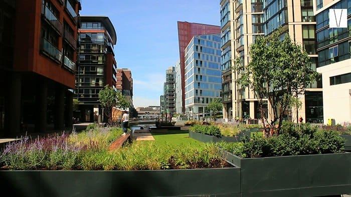 jardim suspenso de paddington garden