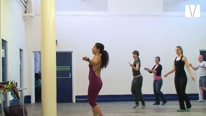 aula de dança com mariana pinho