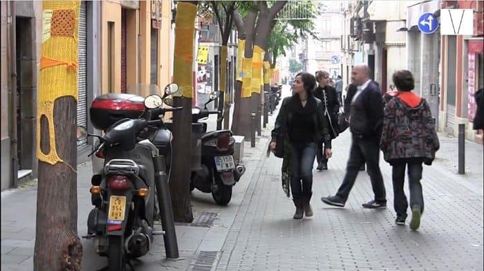 bairro da gracia em barcelona