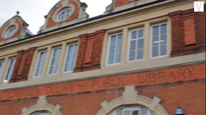 biblioteca pública de dulwich