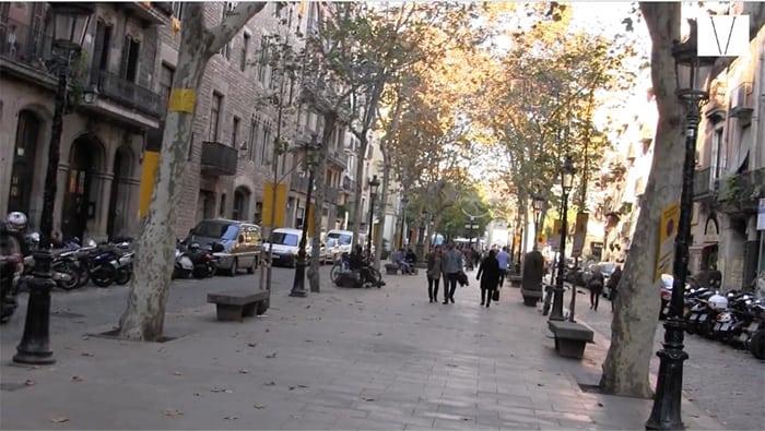 passeo del born barcelona