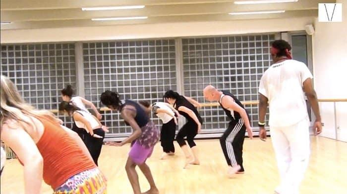 aula de dança com irineu nogueira