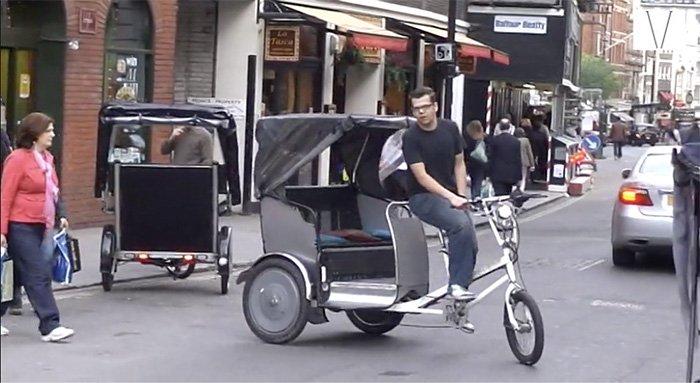 rickshaw em londres