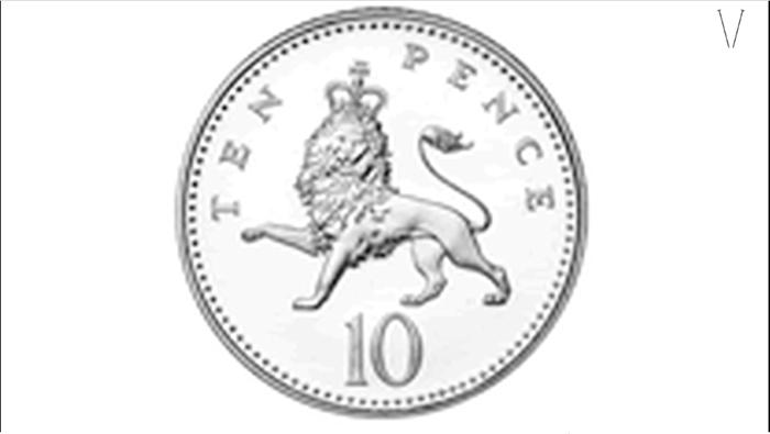 moedas inglesas