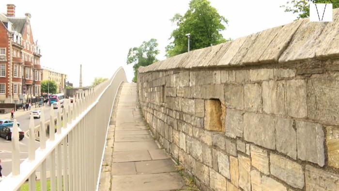 muro romano york