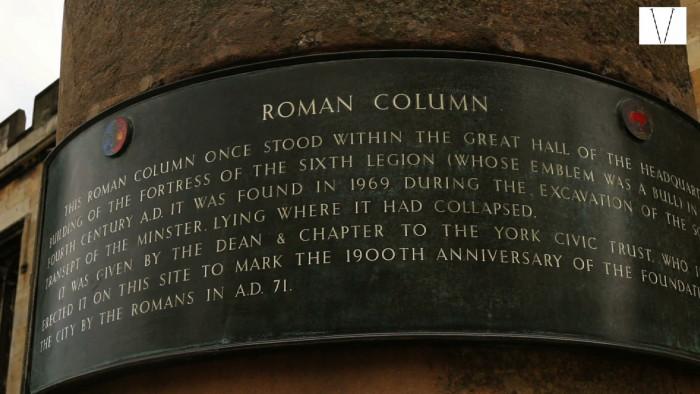 coluna romana em york