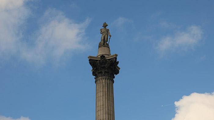 almirante nelson trafalgar square