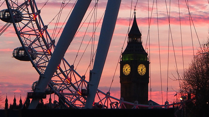 big ben e london eye