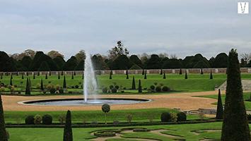 jardins do palácio de hampton court
