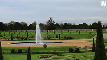jardins do palácio de hampton court
