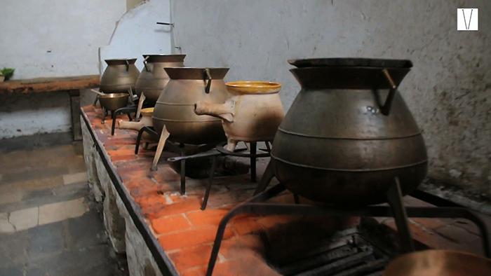 cozinha do palácio de hampton