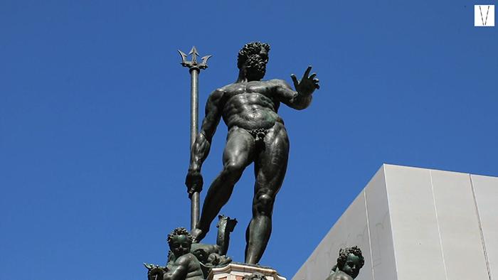 estátua de mercurio