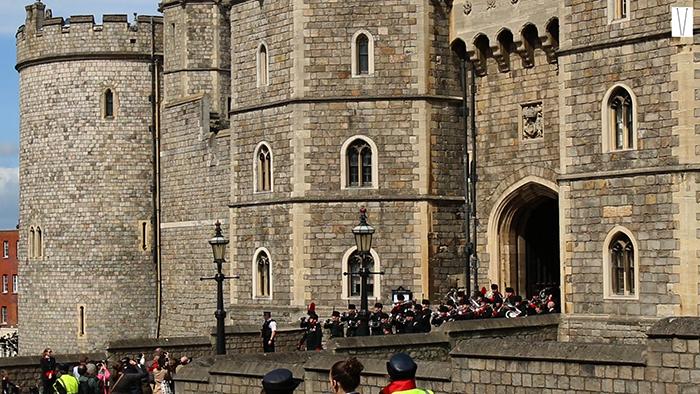 troca de guarda windsor castle