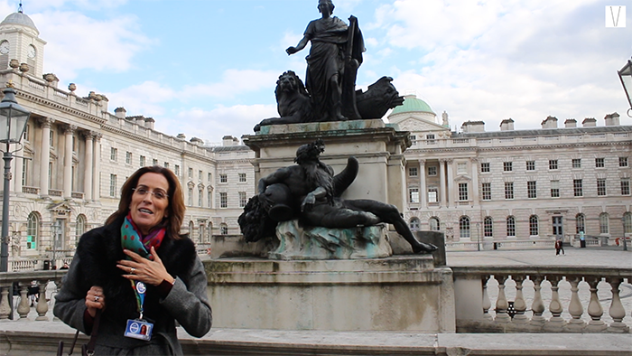estatua de Jorge III Somerset House