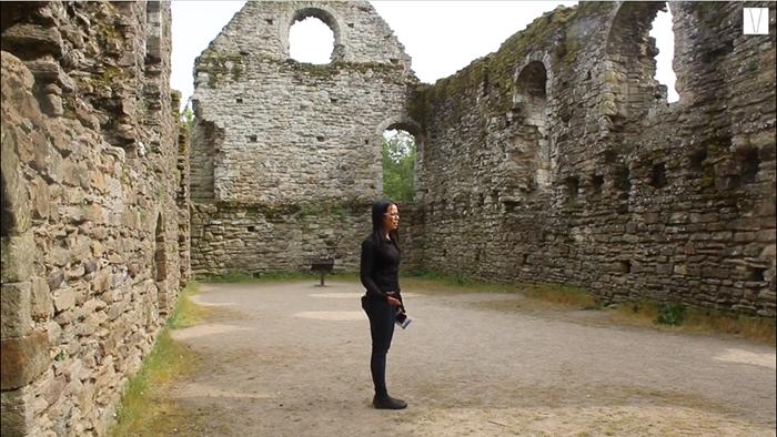 ruinas do castelo