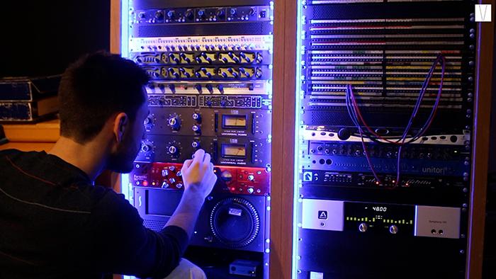 engenharia de som