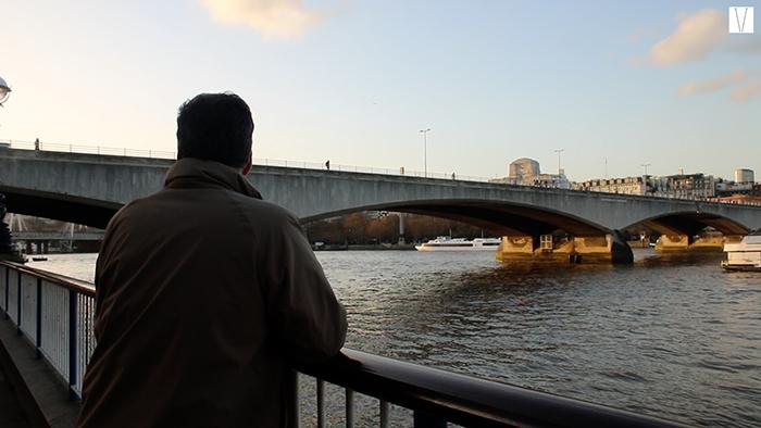arthur galamba e o rio tâmisa
