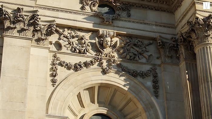 Detalhe da St Paul Cathedral