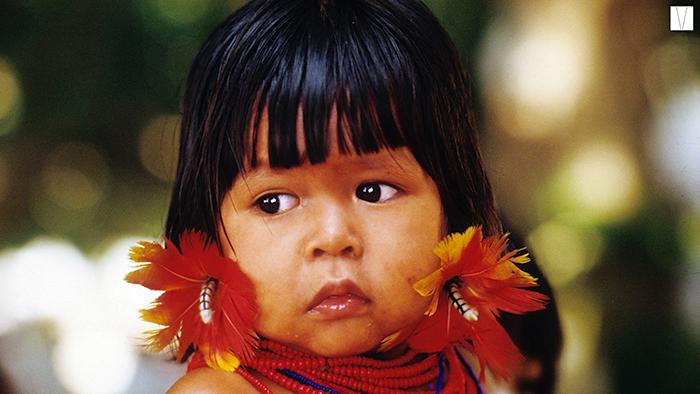 Criança da Tribo Carajá da Ilha do Bananal