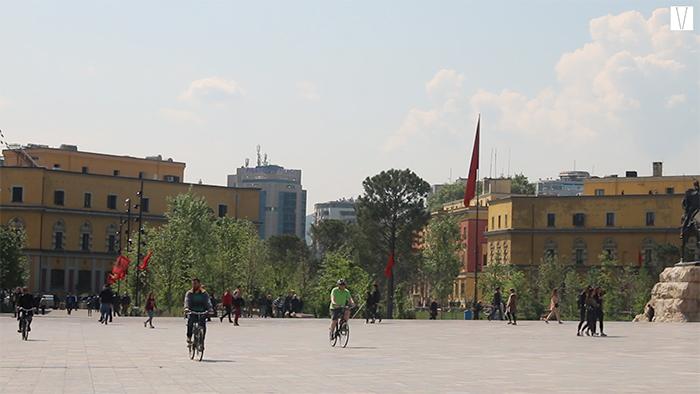 Praça Skanderbeg - Tirana - Albania