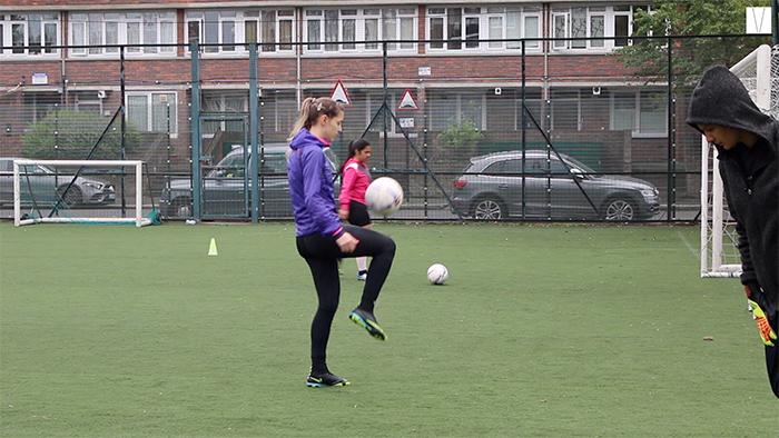 futebol feminino em londres