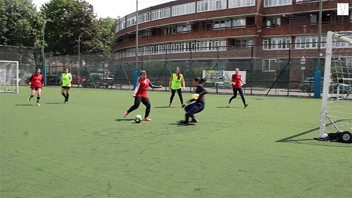 futebol de mulheres em londres