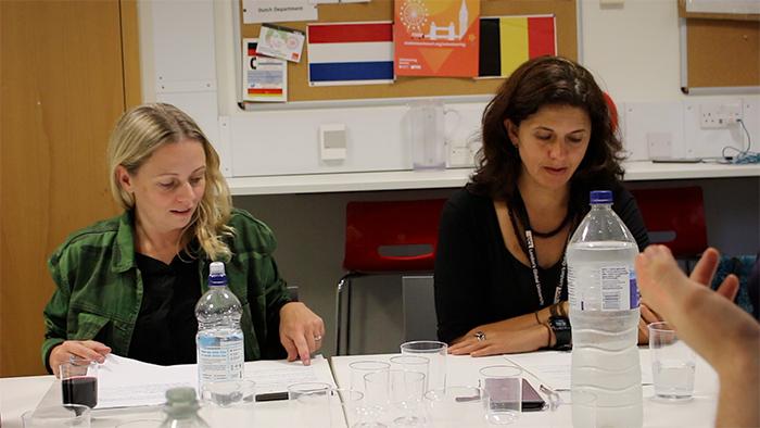 Ana Claudia e Nara Vidal